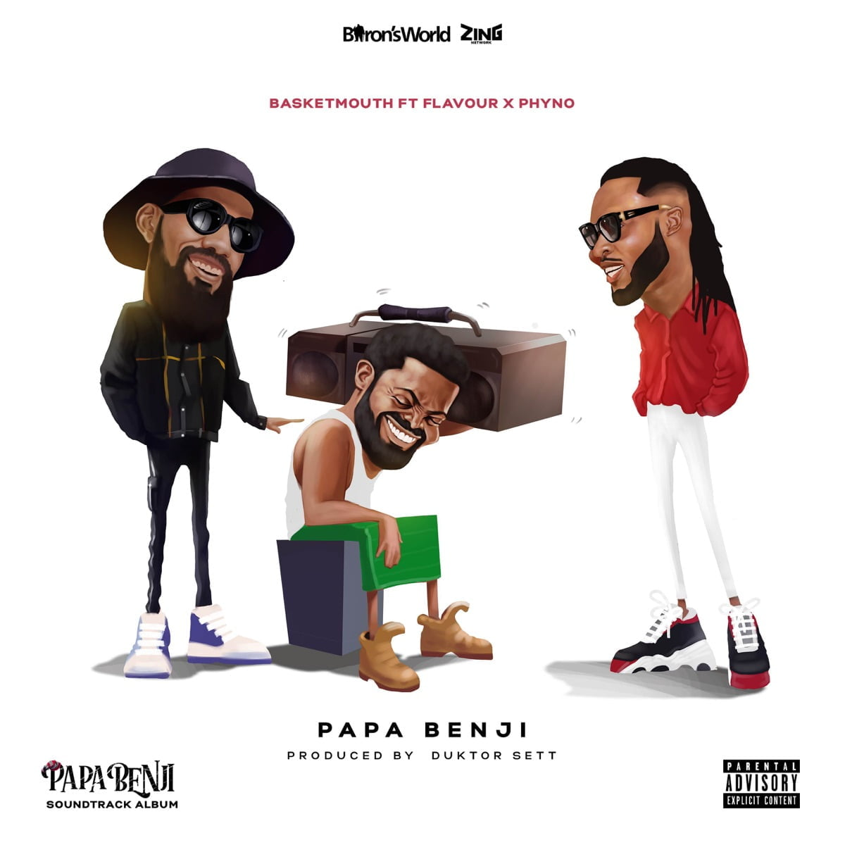 "[Music] Basketmouth ft. Phyno, Flavour – ""Papa Benji"" Mp3 Download"